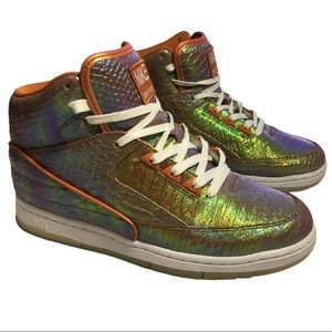 Nike Air Python Iridescent Sneakers Men's Size 8